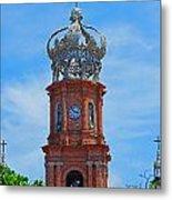 Church In Puerto Vallarta Metal Print