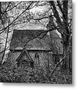Church In The Woods Metal Print by Dave Godden