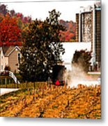 Church Is Over Heading Home Metal Print