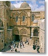 Church Of Holy Sepulchre Old City Jerusalem Metal Print