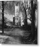 Church Of St Mary Magdalene Metal Print by Simon Marsden