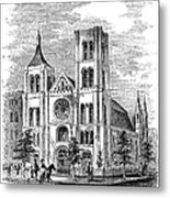 Church Of The Puritans Metal Print