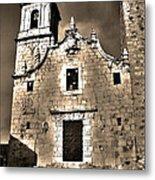 Church Of The Virgen De La Ermitana - Peniscola  Metal Print