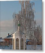 Church On A Frosty Day Metal Print