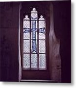 Church Stained Glass Window 2 Metal Print
