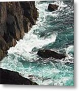 Churning Ocean Metal Print
