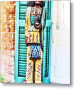 Cigar Store Indian - New Orleans Metal Print
