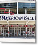 Cincinnati Great American Ball Park Entrance Sign Metal Print