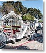 Cinderella Carriage Metal Print