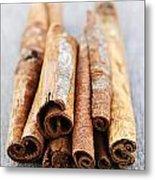 Cinnamon Sticks Metal Print by Elena Elisseeva