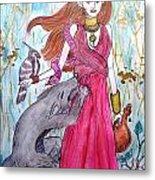 Circe The Sorceress Metal Print