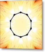 Circle Of Light Metal Print