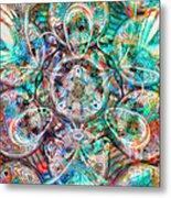 Circles Of Life Metal Print by Mo T