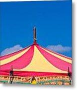 Circus Tent Top  Metal Print