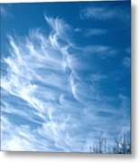 Cirrus Cloud Metal Print