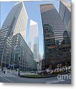 Citigroup Center From Park Avenue I Metal Print
