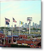 Citizens Bank Park 3 Metal Print by See Me Beautiful Photography