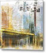 City-art Berlin Potsdamer Platz Metal Print