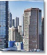 City Buildings Metal Print by Dave & Les Jacobs