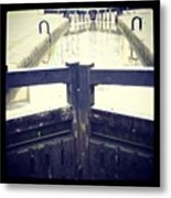 City Centre Lock Metal Print by Chris Jones