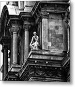 City Hall Edifice - Philadelphia Metal Print