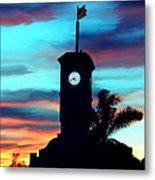 City Hall In Deerfield Beach Florida Metal Print