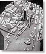 City Model Of Sydney, 1969 Metal Print