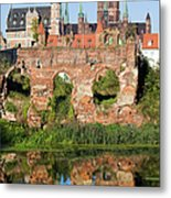 City Of Gdansk In Poland Metal Print