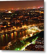 City Of Light Metal Print by Elena Elisseeva