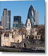 City Of London Metal Print