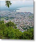 City Of Port Of Spain Trinidad 3 Metal Print