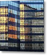 City Reflections 2 Metal Print