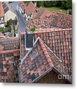 City Roofs Metal Print