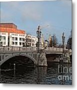 City Scenes From Amsterdam Metal Print
