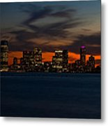 City Skies Metal Print by Michael Murphy