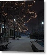 City Tranquility Metal Print