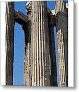 Citymarks Athens Metal Print