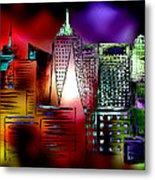 Cityscape 3 Metal Print
