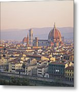 Cityscape, Florence, Italy Metal Print