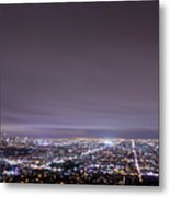 Cityscape, Los Angeles Metal Print by Eric Lo