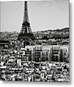 Cityscape Of Paris Metal Print by Sbk_20d Pictures