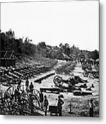 Civil War: Artillery Metal Print