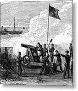 Civil War Battery Metal Print