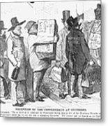 Civil War: Copperhead, 1863 Metal Print