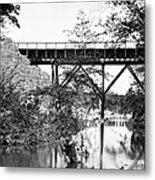 Civil War: Foot Bridge Metal Print