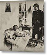 Civil War Hospital Metal Print