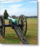 Civil War Lone Canon  Metal Print