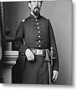 Civil War Major, C1865 Metal Print