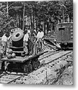 Civil War: Mortar Metal Print