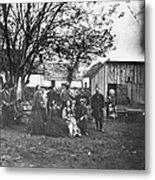 Civil War: Nurses & Officers Metal Print